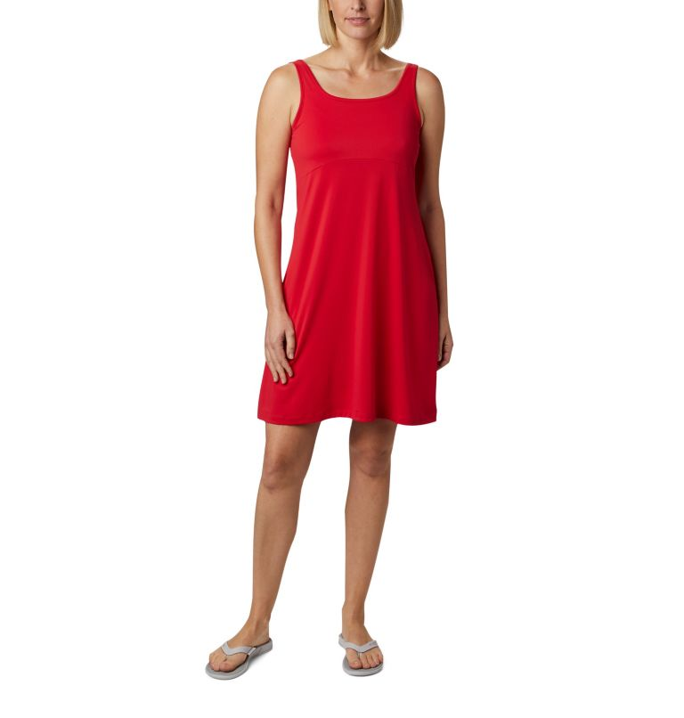 Freezer™ III Dress | 658 | L Women's PFG Freezer™ III Dress, Red Lily, front