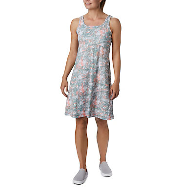 Women's PFG Freezer™ III Dress Freezer™ III Dress | 658 | L, Tiki Pink Waterbrush Print, front