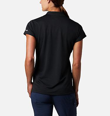 Women's PFG Innisfree™ Short Sleeve Polo Innisfree™ SS Polo | 475 | XS, Black, back