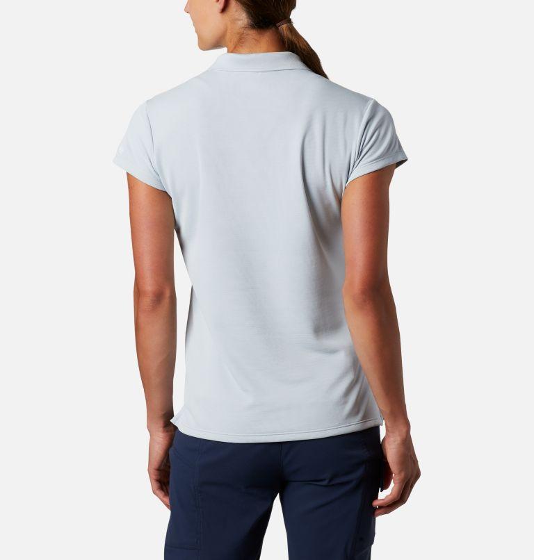 Innisfree™ SS Polo | 031 | XS Women's PFG Innisfree™ Short Sleeve Polo, Cirrus Grey, back