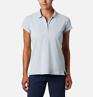 Women's PFG Innisfree™ Short Sleeve Polo Innisfree™ SS Polo | 475 | XS, Cirrus Grey, front