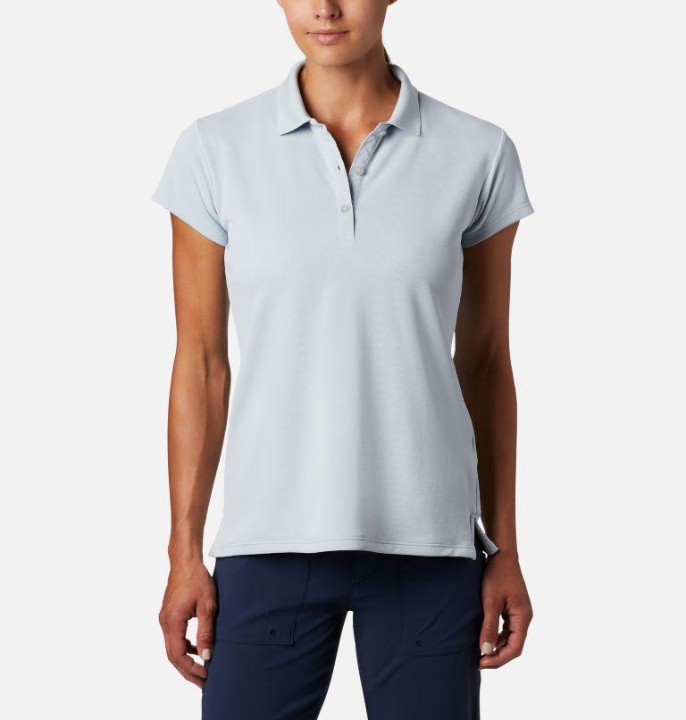 Innisfree™ SS Polo | 031 | XS Women's PFG Innisfree™ Short Sleeve Polo, Cirrus Grey, front