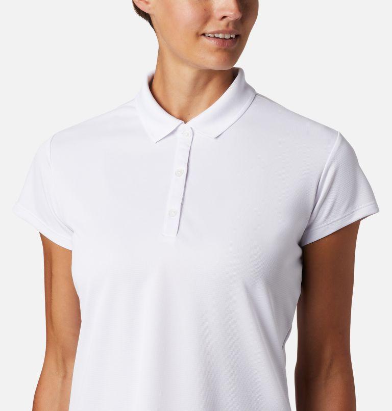 Innisfree™ SS Polo   100   M Women's PFG Innisfree™ Short Sleeve Polo, White, a1