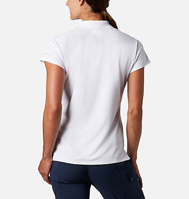Women's PFG Innisfree™ Short Sleeve Polo Innisfree™ SS Polo | 475 | XS, White, back