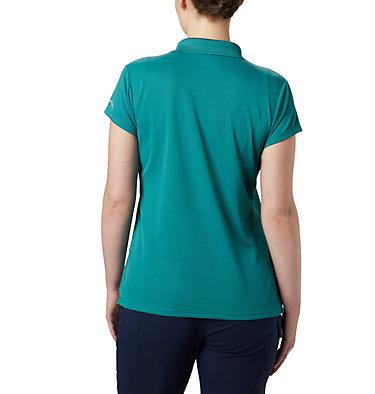 Women's PFG Innisfree™ Short Sleeve Polo Innisfree™ SS Polo | 475 | XS, Waterfall, back