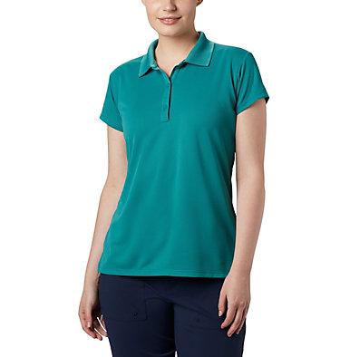 Women's PFG Innisfree™ Short Sleeve Polo Innisfree™ SS Polo | 475 | XS, Waterfall, front