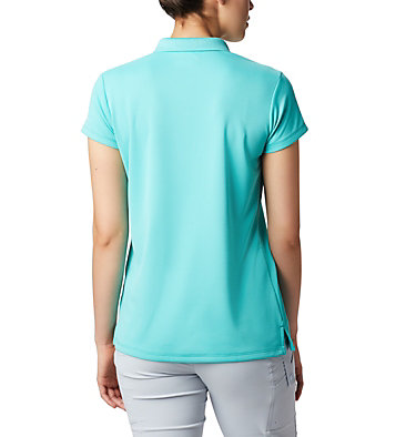 Women's PFG Innisfree™ Short Sleeve Polo Innisfree™ SS Polo | 475 | XS, Dolphin, back