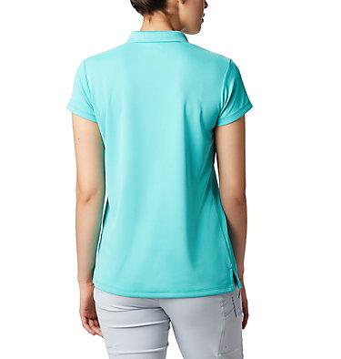 Women's PFG Innisfree™ Short Sleeve Polo Innisfree™ SS Polo | 475 | XS, Dolphin, back