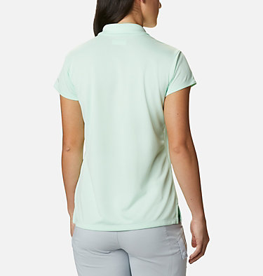 Women's PFG Innisfree™ Short Sleeve Polo Innisfree™ SS Polo | 475 | XS, Light Mint, back