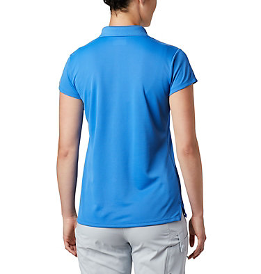 Women's PFG Innisfree™ Short Sleeve Polo Innisfree™ SS Polo | 475 | XS, Stormy Blue, back