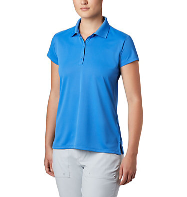 Women's PFG Innisfree™ Short Sleeve Polo Innisfree™ SS Polo | 475 | XS, Stormy Blue, front
