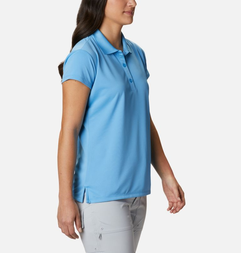 Innisfree™ SS Polo | 475 | S Women's PFG Innisfree™ Short Sleeve Polo, Yacht, a3
