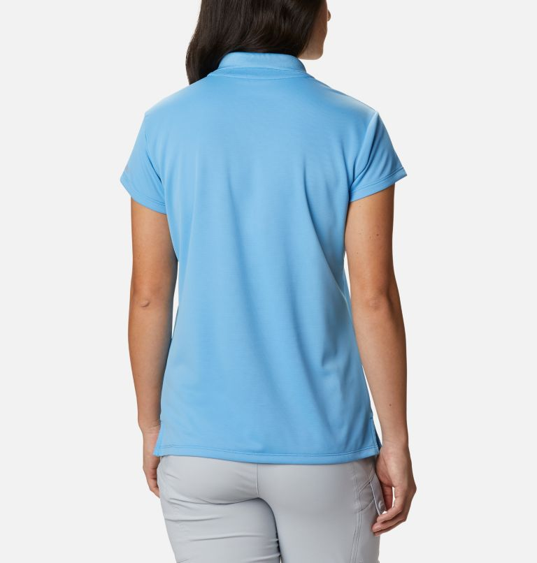 Innisfree™ SS Polo | 475 | XS Women's PFG Innisfree™ Short Sleeve Polo, Yacht, back