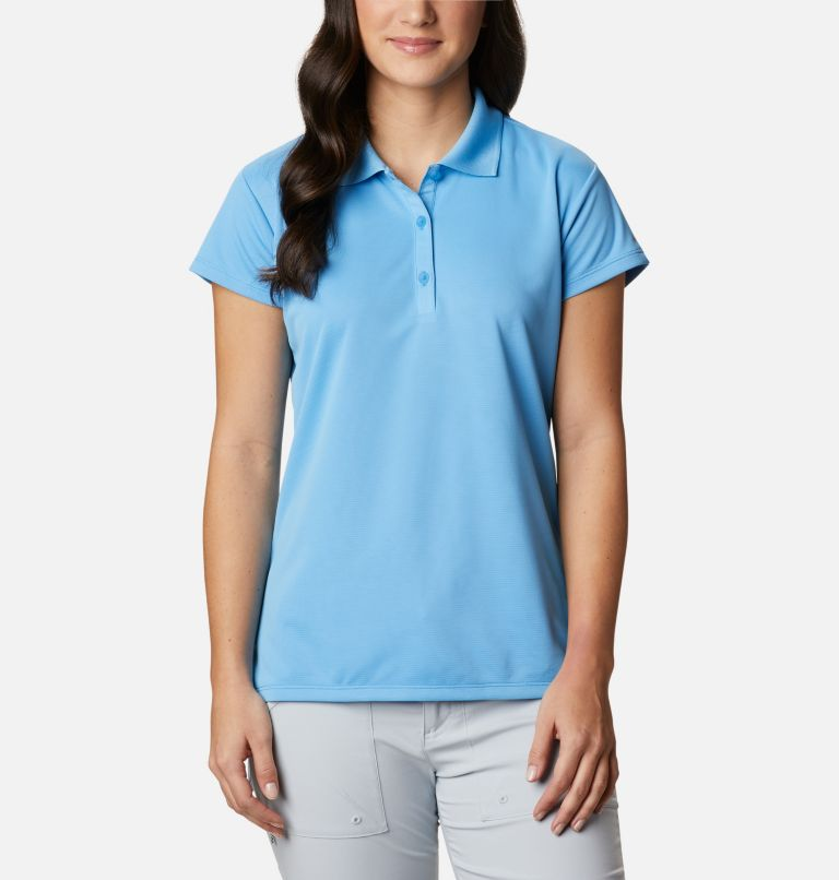 Innisfree™ SS Polo | 475 | S Women's PFG Innisfree™ Short Sleeve Polo, Yacht, front