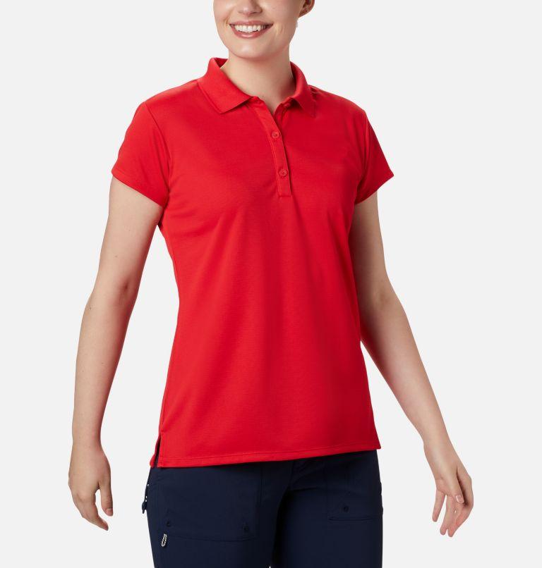 Innisfree™ SS Polo | 658 | XXL Women's PFG Innisfree™ Short Sleeve Polo, Red Lily, a1