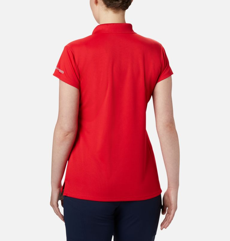 Innisfree™ SS Polo | 658 | XXL Women's PFG Innisfree™ Short Sleeve Polo, Red Lily, back