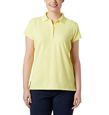 Women's PFG Innisfree™ Short Sleeve Polo Innisfree™ SS Polo | 475 | XS, Sunnyside, front