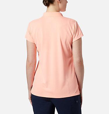 Women's PFG Innisfree™ Short Sleeve Polo Innisfree™ SS Polo | 475 | XS, Tiki Pink, back