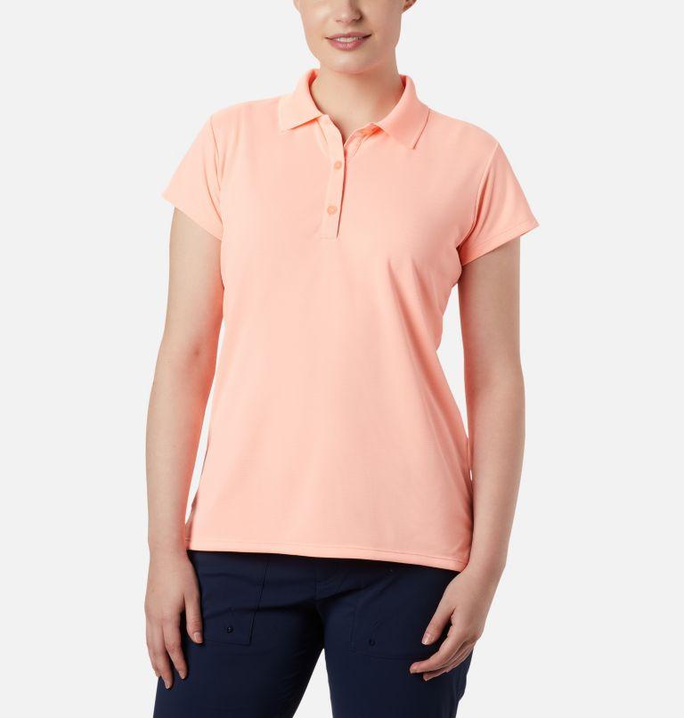 Innisfree™ SS Polo   807   XXL Women's PFG Innisfree™ Short Sleeve Polo, Tiki Pink, front