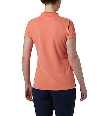 Women's PFG Innisfree™ Short Sleeve Polo Innisfree™ SS Polo | 867 | XS, Lychee, back