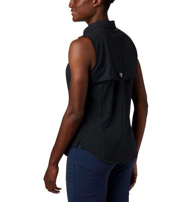 Tamiami™ Women's Sleeveless Shirt | 010 | L Women's PFG Tamiami™ Sleeveless Shirt, Black, a1