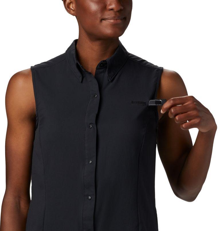 Tamiami™ Women's Sleeveless Shirt | 010 | L Women's PFG Tamiami™ Sleeveless Shirt, Black, a2