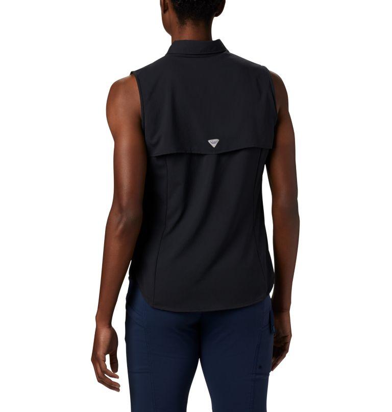 Tamiami™ Women's Sleeveless Shirt | 010 | L Women's PFG Tamiami™ Sleeveless Shirt, Black, back