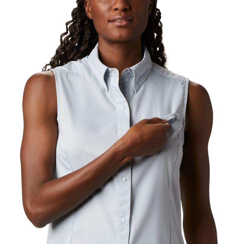 Tamiami™ Women's Sleeveless Shirt | 031 | XL Women's PFG Tamiami™ Sleeveless Shirt, Cirrus Grey, a2
