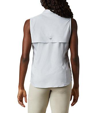 Women's PFG Tamiami™ Sleeveless Shirt Tamiami™ Women's Sleeveless Shirt | 305 | S, Cirrus Grey, back