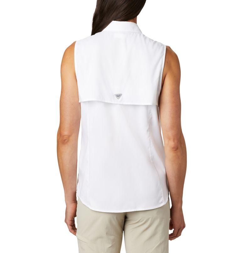 Tamiami™ Women's Sleeveless Shirt | 100 | XS Women's PFG Tamiami™ Sleeveless Shirt, White, back