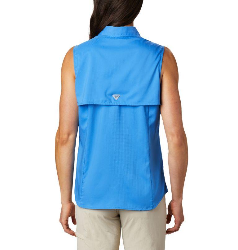 Tamiami™ Women's Sleeveless Shirt | 426 | L Women's PFG Tamiami™ Sleeveless Shirt, Stormy Blue, back