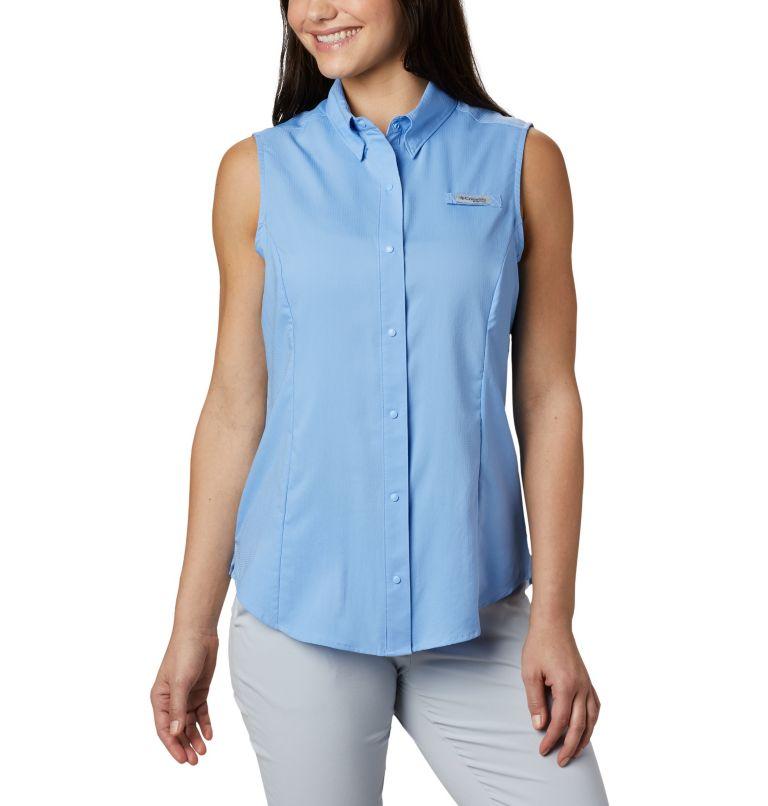 Tamiami™ Women's Sleeveless Shirt | 450 | M Women's PFG Tamiami™ Sleeveless Shirt, White Cap, front