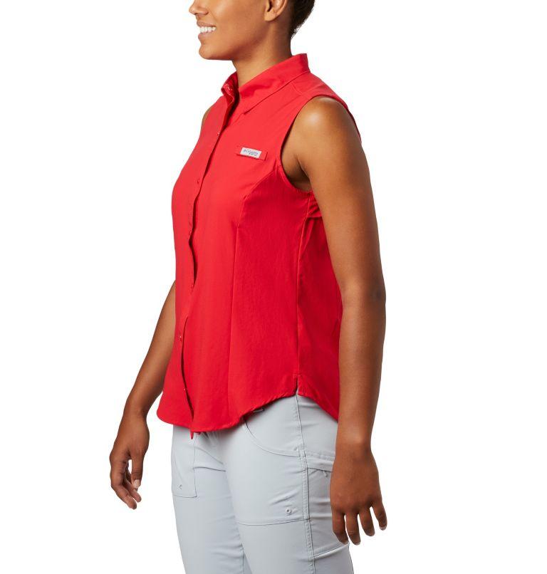 Tamiami™ Women's Sleeveless Shirt | 658 | XS Women's PFG Tamiami™ Sleeveless Shirt, Red Lily, a1