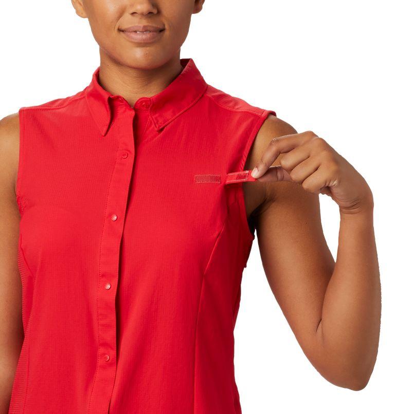 Tamiami™ Women's Sleeveless Shirt | 658 | XL Women's PFG Tamiami™ Sleeveless Shirt, Red Lily, a2