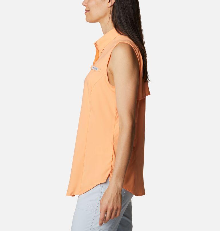 Tamiami™ Women's Sleeveless Shirt | 873 | M Women's PFG Tamiami™ Sleeveless Shirt, Bright Nectar, a1