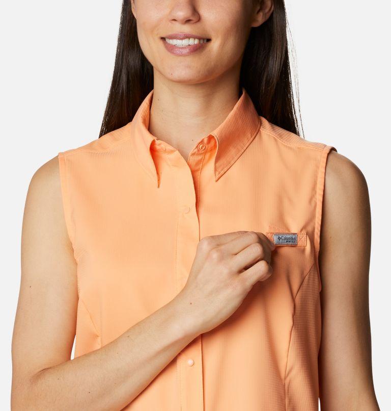 Tamiami™ Women's Sleeveless Shirt | 873 | M Women's PFG Tamiami™ Sleeveless Shirt, Bright Nectar, a2