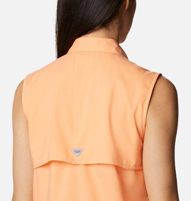 Tamiami™ Women's Sleeveless Shirt | 873 | M Women's PFG Tamiami™ Sleeveless Shirt, Bright Nectar, a3