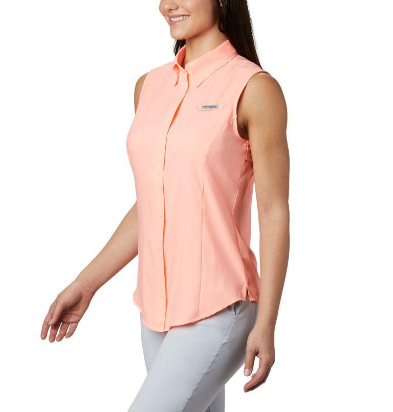 Tamiami™ Women's Sleeveless Shirt   884   XL Women's PFG Tamiami™ Sleeveless Shirt, Tiki Pink, a3
