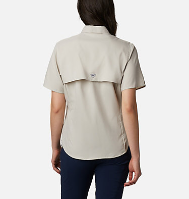 Women's PFG Tamiami™ II Short Sleeve Shirt Womens Tamiami™ II SS Shirt | 658 | L, Light Cloud, back