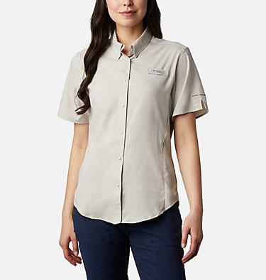Women's PFG Tamiami™ II Short Sleeve Shirt Womens Tamiami™ II SS Shirt | 658 | L, Light Cloud, front