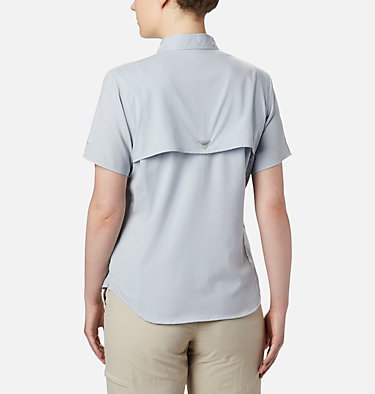 Women's PFG Tamiami™ II Short Sleeve Shirt Womens Tamiami™ II SS Shirt | 658 | L, Cirrus Grey, back