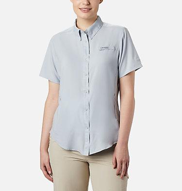 Women's PFG Tamiami™ II Short Sleeve Shirt Womens Tamiami™ II SS Shirt | 658 | L, Cirrus Grey, front