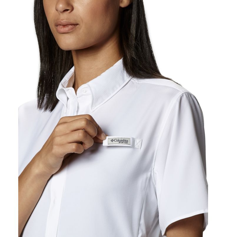 Womens Tamiami™ II SS Shirt | 100 | L Women's PFG Tamiami™ II Short Sleeve Shirt, White, a5