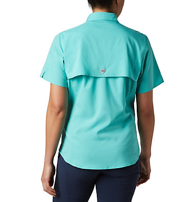 Women's PFG Tamiami™ II Short Sleeve Shirt Womens Tamiami™ II SS Shirt | 658 | L, Dolphin, back