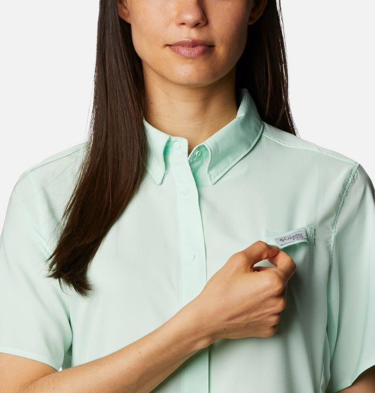Womens Tamiami™ II SS Shirt | 383 | L Women's PFG Tamiami™ II Short Sleeve Shirt, Light Mint, a2