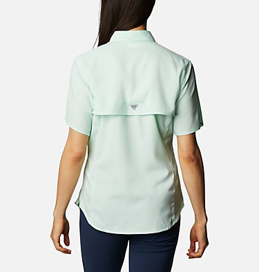 Women's PFG Tamiami™ II Short Sleeve Shirt Womens Tamiami™ II SS Shirt | 658 | L, Light Mint, back