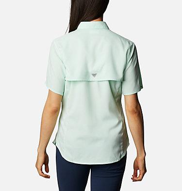 Women's PFG Tamiami™ II Short Sleeve Shirt Womens Tamiami™ II SS Shirt | 856 | L, Light Mint, back