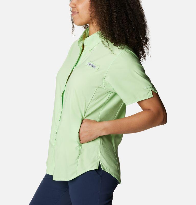 Womens Tamiami™ II SS Shirt   398   M Women's PFG Tamiami™ II Short Sleeve Shirt, Lime Glow, a1
