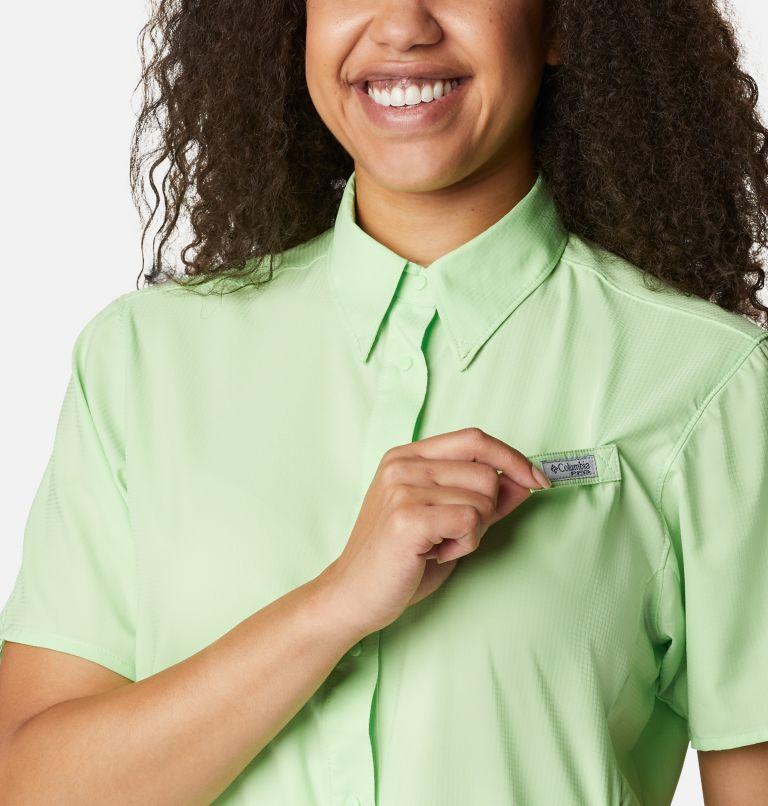 Womens Tamiami™ II SS Shirt   398   M Women's PFG Tamiami™ II Short Sleeve Shirt, Lime Glow, a2