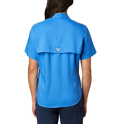 Women's PFG Tamiami™ II Short Sleeve Shirt Womens Tamiami™ II SS Shirt | 658 | L, Stormy Blue, back